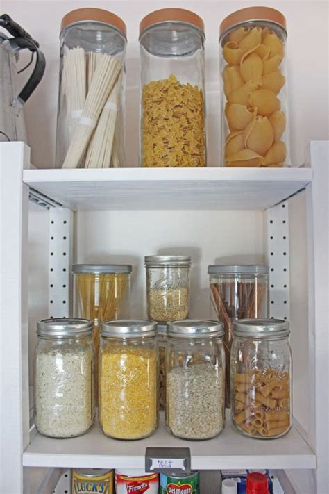 ikea open shelving create an open shelving pantry with ikea shelves hometalk
