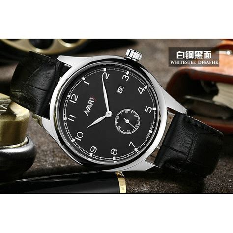 Jam Tangan Dw Leather Kulit Black 1 nary jam tangan analog retro kulit 1902 black silver jakartanotebook