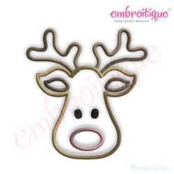 photos reindeer face template rudolph reindeer template deer head silhouette outline