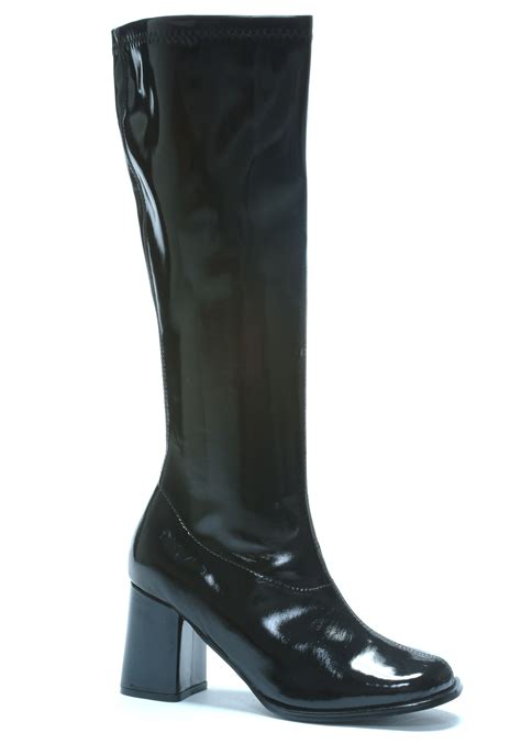 womans black boots womens black gogo boots