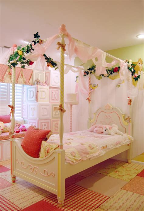 fancy girl bedrooms magical children s bedroom from kidtropolis home design