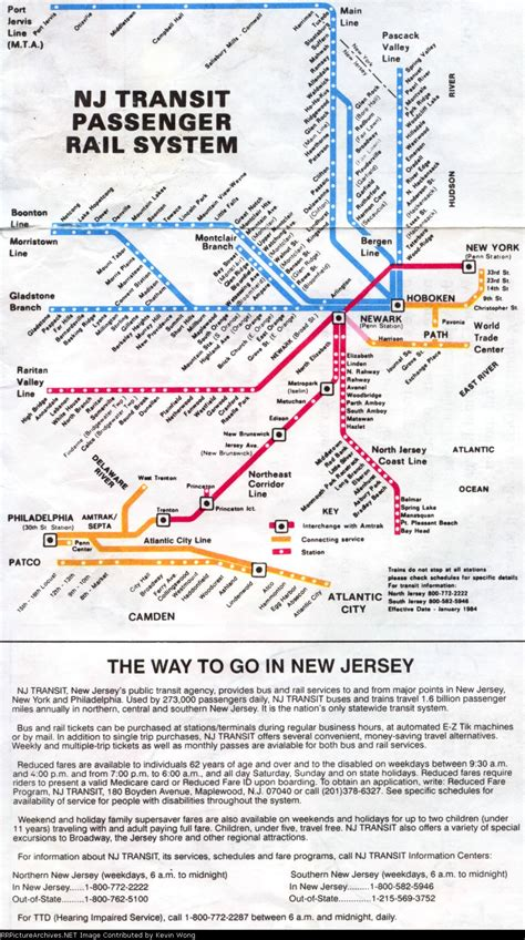 njt map railroad net view topic nj transit maps