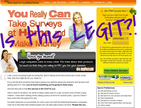 Reputable Surveys For Money - survey money machines legit surviving after college