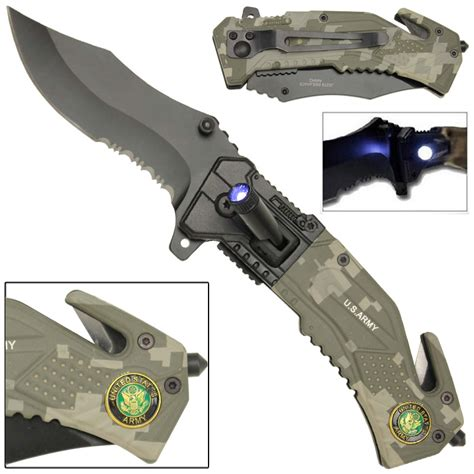 us army knives assist led tactical rescue assisted pocket knife us