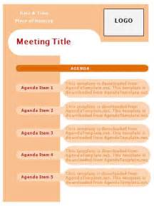creative meeting agenda template 8 best images of meeting agendas meeting agenda