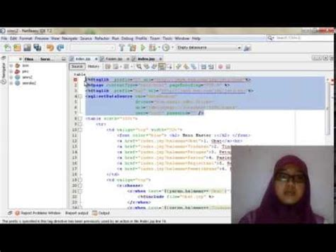 tutorial java web netbeans español tutorial dasar tampil data dari database mysql berbasis