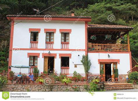 house in spanish typical spanish house in asturias stock image image 38395131