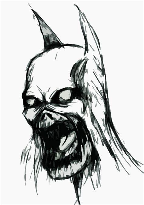 zombie batman coloring pages pics for gt zombie batman drawing