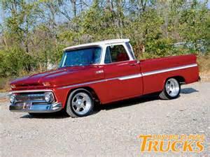 1965 Chevy Truck Custom Wheels 1965 Chevy C10 Truck Custom Classic Trucks Magazine