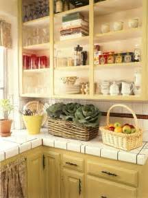 Open Shelf Kitchen Cabinet Ideas by Open Kitchen Shelving Djd Design