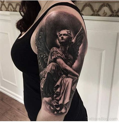 Guardian Half Sleeve Tattoos Designs Pictures Page 30
