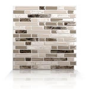 stick on backsplash no grout bellagio bello peel and stick tile for kitchen backsplash rv cers home