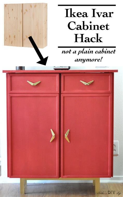 can you paint ikea cabinets can you believe this is an ikea ivar cabinet hack