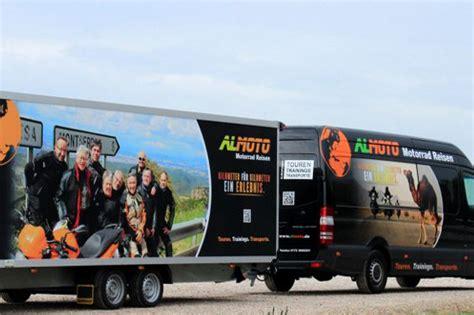 Motorradtransport Nach Spanien by News Auf Almoto Motorrad Reisen