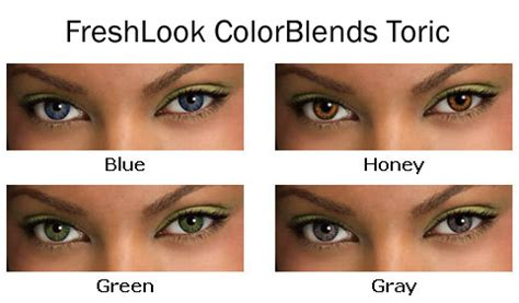colored toric contact lenses for astigmatism freshlook colorblends toric contacts 58 95 lowest price