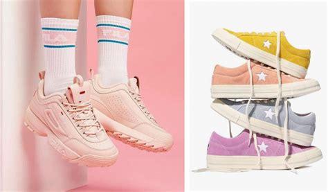 pastel sneakers top 5 sneaker trends 2018 we are basket