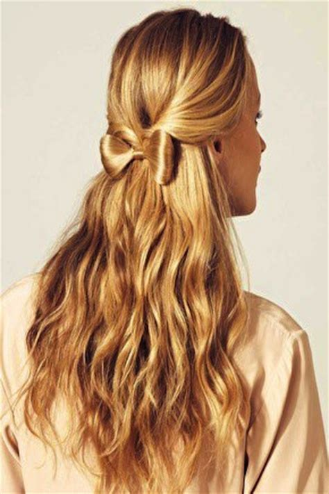 down hairstyles with bows a new obsession a b creative