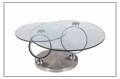 Délicieux Table Salle A Manger Ronde En Verre #7: table-basse-design-en-verre-ronde-modulable.jpg