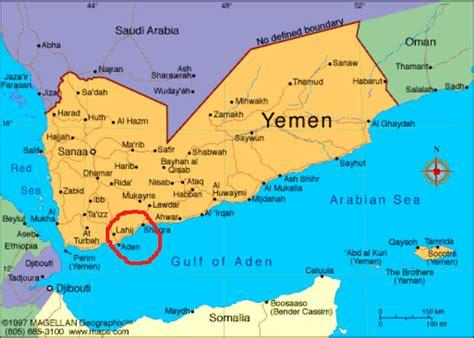 Yemen Map   yemen us mission creep escalates as 100 us rangers land