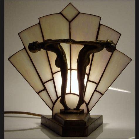 tiffany art deco fan lamp by carrie williams: martin