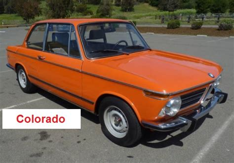 Wheels Bmw 2002 Orange New Models Factory Sealed 2012 21 247 how to identify a 1971 1975 bmw 02 series 2002 tii coupe