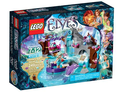 Lego Elves by Review Lego Elves 41072 Naida S Spa Secret
