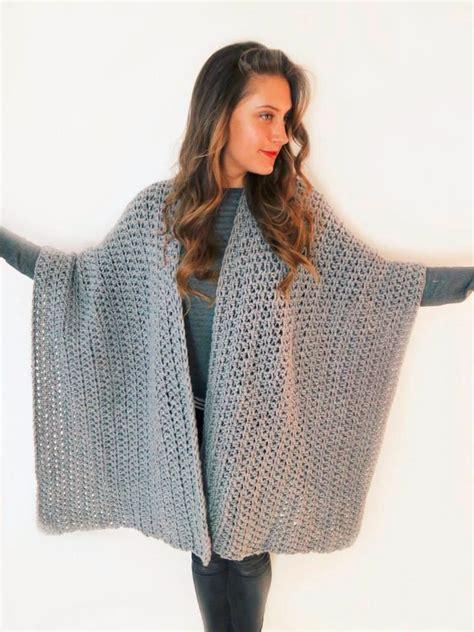 como hacer una ruana ruana capa poncho abrigo cardigan wrap boho tejido crochet