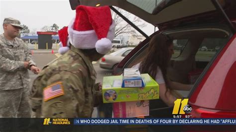 salvation army spreads christmas cheer to fayetteville