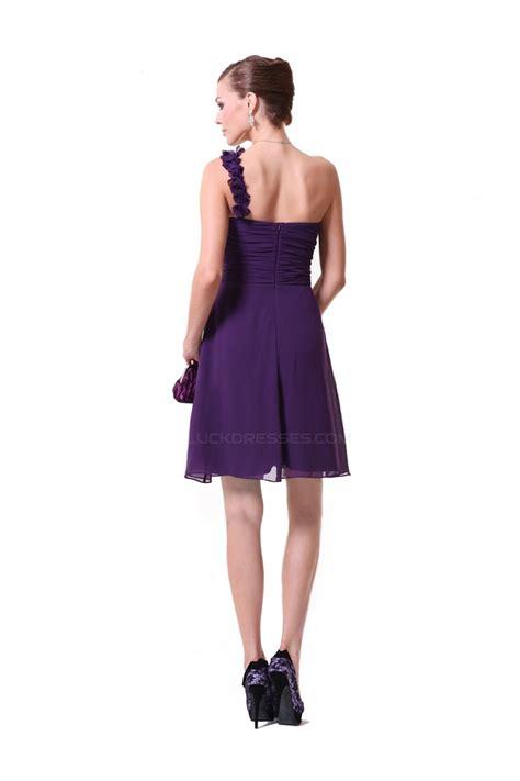 a line one shoulder purple chiffon bridesmaid dresses wedding dresses bd010220
