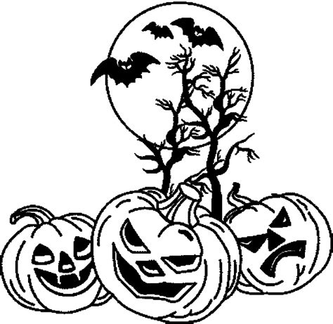 spooky pumpkin coloring pages halloween planse de colorat planse de colorat