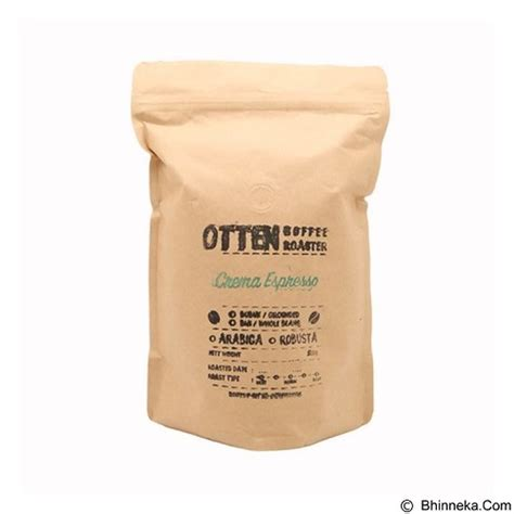 Kopi Otten jual otten coffee biji kopi crema espresso 500gr merchant