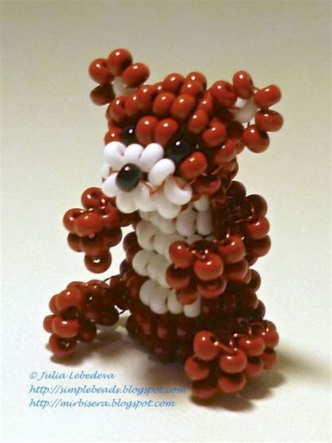 beadwork animals beaded animals the and bears on