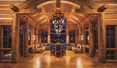 beautiful log cabin dining rooms 5 delightful log home dining rooms
