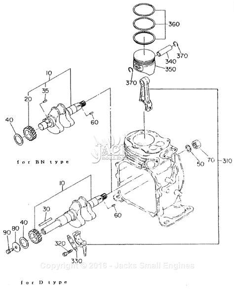 crankshaft parts diagram robin subaru ey08 parts diagram for crankshaft piston