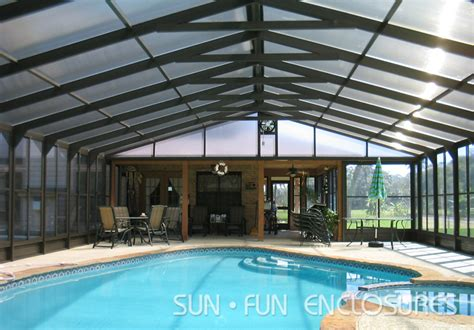 enclosed pool enclosed pool builder in houston sun fun enclosures