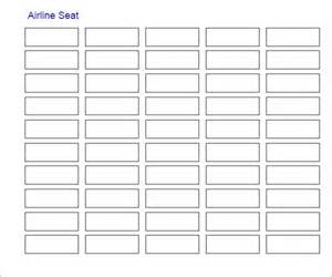 excel seating chart template sle seating chart template 6 free documents in pdf