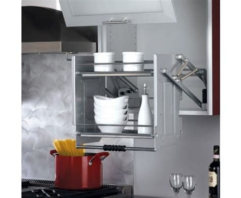 kitchen cabinet pull down shelves pull down shelf for 24 quot wall cabinets specialty storage
