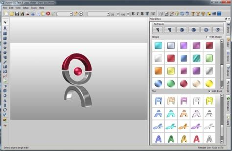 3d logo editor 3d text and logo software micro creator
