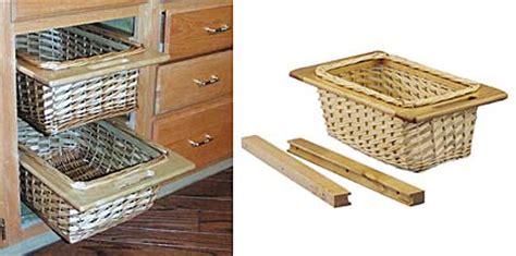 rev a shelf woven basket with rails in standard size kitchensource com rev a shelf 4wb 15i 11 1 4 quot 286mm wide rattan basket