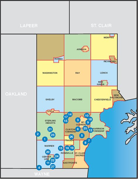 Macomb County Search Map Of Macomb County Jorgeroblesforcongress