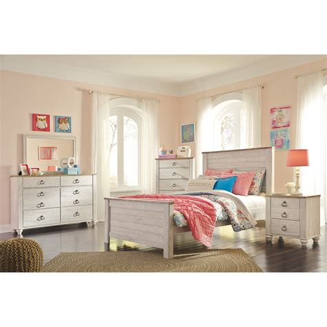 Signature Design By Bedroom Sets by Signature Design By Willowton Bedroom