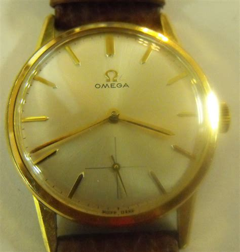 antiques atlas vintage gold plated ss gents omega
