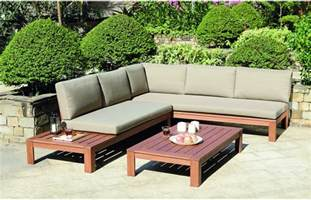 Patio Lounge Cushions Miami Wooden Garden Lounge Set With Cushions Out And Out