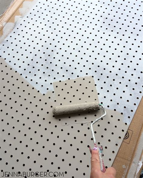 pegboard design how to paint pegboard build a pegboard frame jenna burger