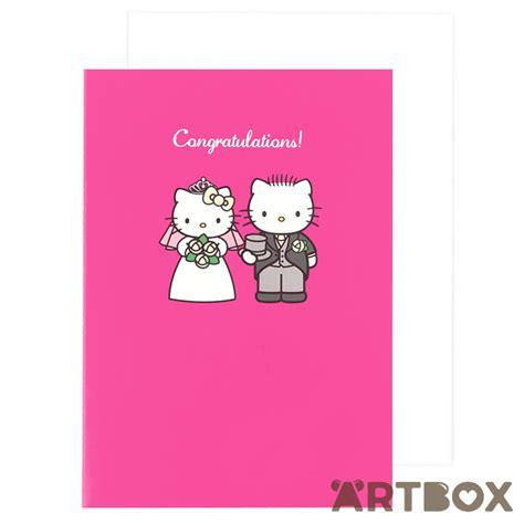 Wedding Hello by Buy Sanrio Hello Wedding Congratulations Pink