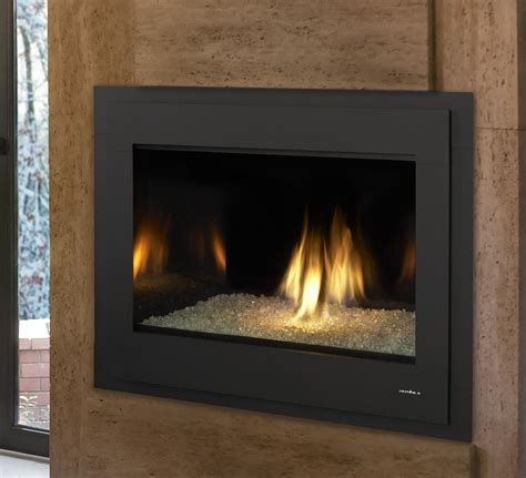 Modern Direct Vent Fireplace by Gas Fireplaces 8000 Modern Kastle Fireplace