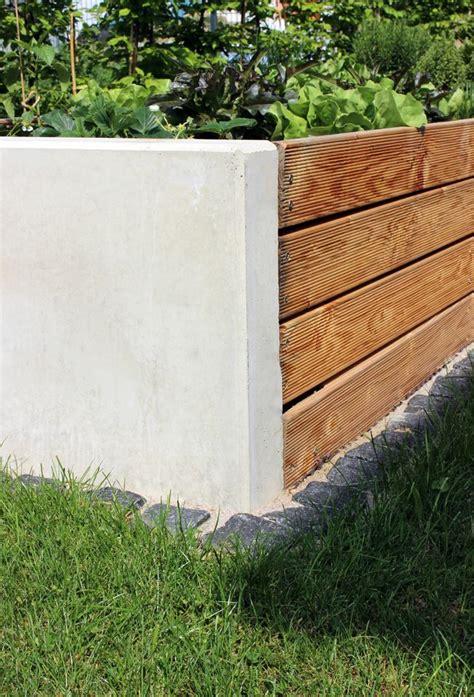 Kleiner Garten Sichtschutz 5575 hochbeet selbst bauen jennadores garten diy beton