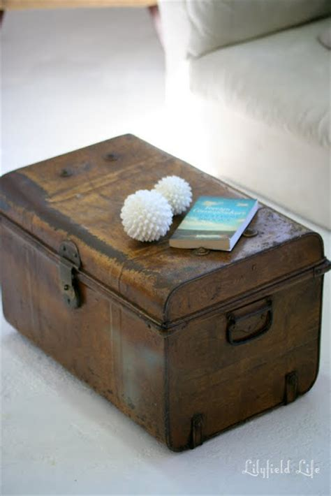 Vintage Trunk Coffee Table Lilyfield Vintage Trunk Coffee Table