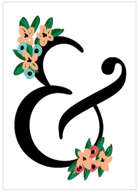 Bedroom Prints Free Ampersand Printable For Bedroom Or Living Room My