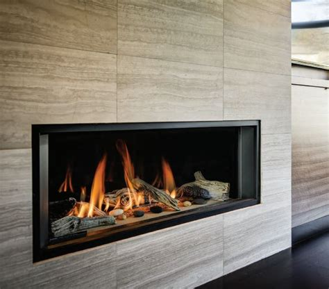 Linear Fireplace Designs by Gas Fireplaces In San Francisco Bay Area